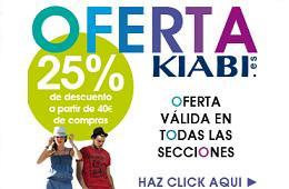 Codigos promocionales Kiabi Julio Agosto 2012
