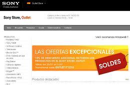 Ahorros de verano en el outlet de la tienda online Sony Store código promocional con el 10% de descuento