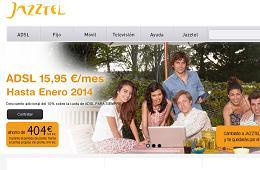 Ofertas de ADSL en Jazztel