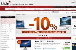 10% descuento Mac Apple en K-Tuin