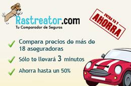 Ofertas de seguros de coche con hasta un 50% de descuento en Rastreator