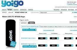 Internet móvil Yoigo, oferta de dos meses gratis