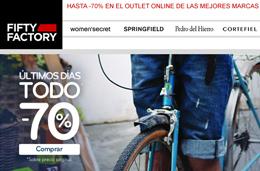 Rebajas de moda con hasta el -70% en el outlet de primeras marcas, Fifty Factory
