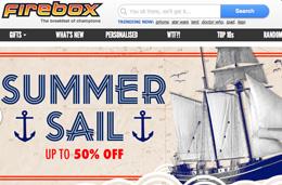 Rebajas de verano en Firebox, hasta un 50% de descuento