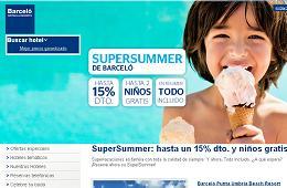Descuento adicional cupón promocional Barceló Hotels 20%