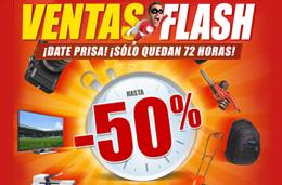 Ventas Flash en Pixmania durante 72h y descuentos de hasta el 50% hasta fin de stock