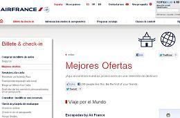 Escapadas de Air France con descuentos especiales en sus vuelos a todo el mundo