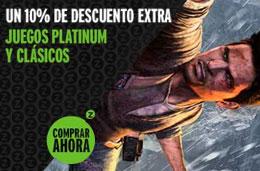Codigo descuento en Zavvi España de un -10% en videojuegos platinum y clásicos