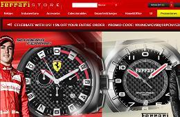 Vale promocional Tienda Ferrari, 15% descuento
