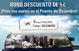 Codigo promocional de Rumbo para tener 5€ de descuento en reservas de vuelos