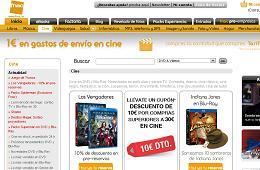 Cheque regalo 10€ Fnac sección de cine