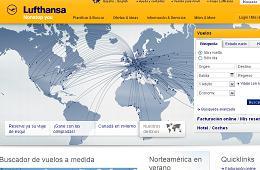 Vale promocional de Lufthansa para tener 20€ de descuento en sus vuelos