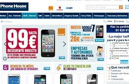 The Phone House ofertas smartphone rebajados iPhone 4, Samsumg Galaxy