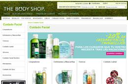 Descuentos en The Body Shop del -20% en más de 350 productos de cuidado facial y maquillaje