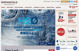 Codigo de descuento en Springfield durante 24h para tener un -20% en toda su tienda online