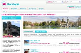 Código promocional de Hotelopia para tener un -10% extra en reservas de hotel