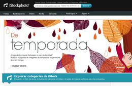 Codigo promocional en iStockPhoto para tener un 8% de descuento en la compra de 60 créditos o más