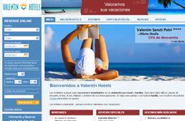 Códigos descuento Valentin Hotels