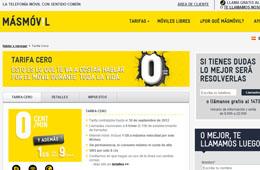 Tarifa del 0 de MásMóvil renovada un mes más con llamadas a 0€ y 1Gb de datos por 9€ al mes
