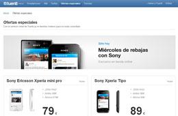 Rebajas en Tuenti Movil durante 24h en los móviles Sony Xperia
