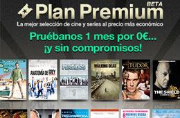 Plan Premium Gratis y sorteo de televisión TV Samsung LED 40 en Wuaki.tv