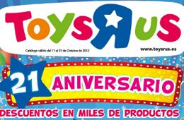 Aniversario Toys R Us con miles de productos con descuentos adicionales
