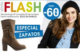 Venta flash Kiabi, especial de zapatos