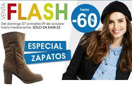 Venta flash Kiabi, especial de zapatos