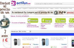 Gastos de envío por 1 euros en Octilus