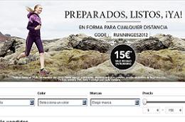 Código promocional de Zalando para tener un -15% de descuento en artículos de Running