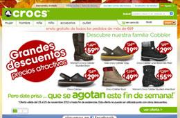 Código descuento de Crocs para tener -10€ en compras superiores a 55€