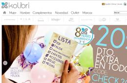 Código descuento de Kolibrishop para tener un 20% de descuento en compras superiores a 80€