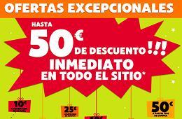 Cupón descuento de Pixmania para tener hasta 50€ de descuento inmediato en toda su web
