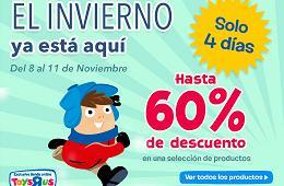 Promociones en Toys R us de hasta el 60% en una selección de artículos durante 4 días