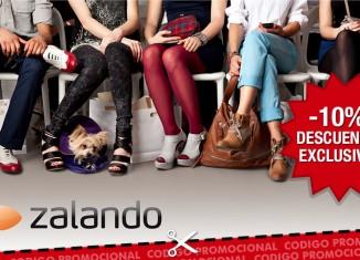 Codigo promocional Zalando en exclusiva para PromoCodigos con el que tener un 10% de descuento extra