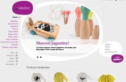 promociones en la tienda infantil Nobodinoz con un -50% en la moda de invierno y -30% en juguetes