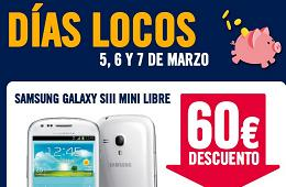 Nuevos Días Locos en The Phone House con rebajas en Samsung Galaxy SIII mini