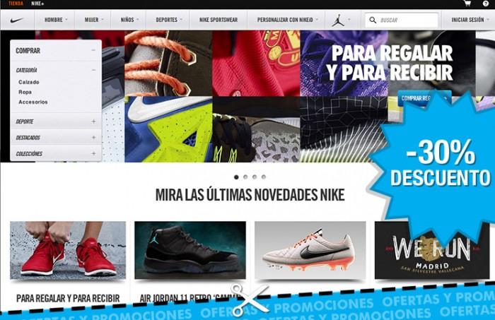 be4c7bd7 Rebajas en Nike Store con descuentos de hasta el 30%