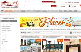 Descuentos de muebles y decoración en Venta-Única durante su 'Semana del Placer'
