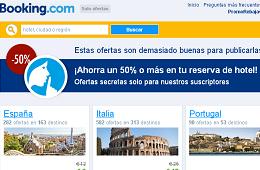 Ofertas y promociones de Booking.com