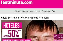 Ofertas y promociones de LastMinute