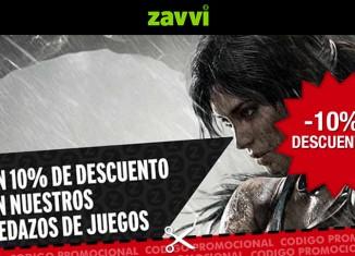Codigo promocional de Zavvi con el que obtener un descuento del 10%
