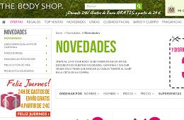 Rebajas y promociones de The Body Shop