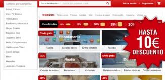 Códigos promocionales de PriceMinister con el que conseguir un descuento de hasta 10€