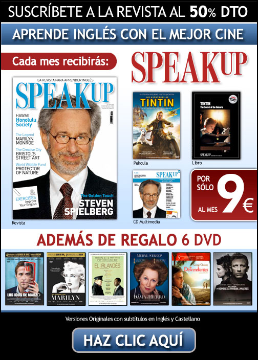 Suscripción Revista Speak Up