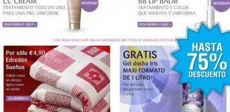 Rebajas en Bottega Verde con descuentos de hasta el 75% en cosméticos