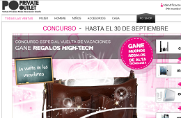 Ofertas y promociones de Private Outlet