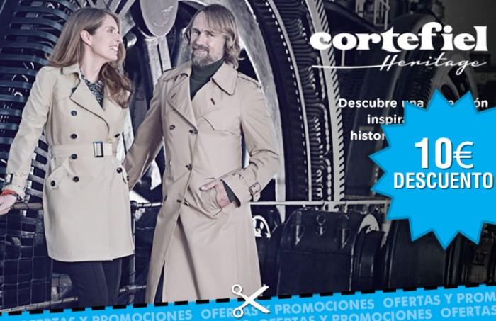 Cheque regalo de 10€ por compra en la tienda de moda Cortefiel