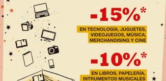 Nuevas rebajas para socios de Fnac con descuentos de hasta el 15%