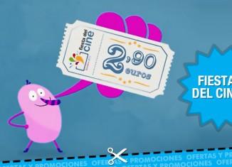 Oferta: Vuelve la Fiesta del Cine durante 3 días y películas a 2,90€